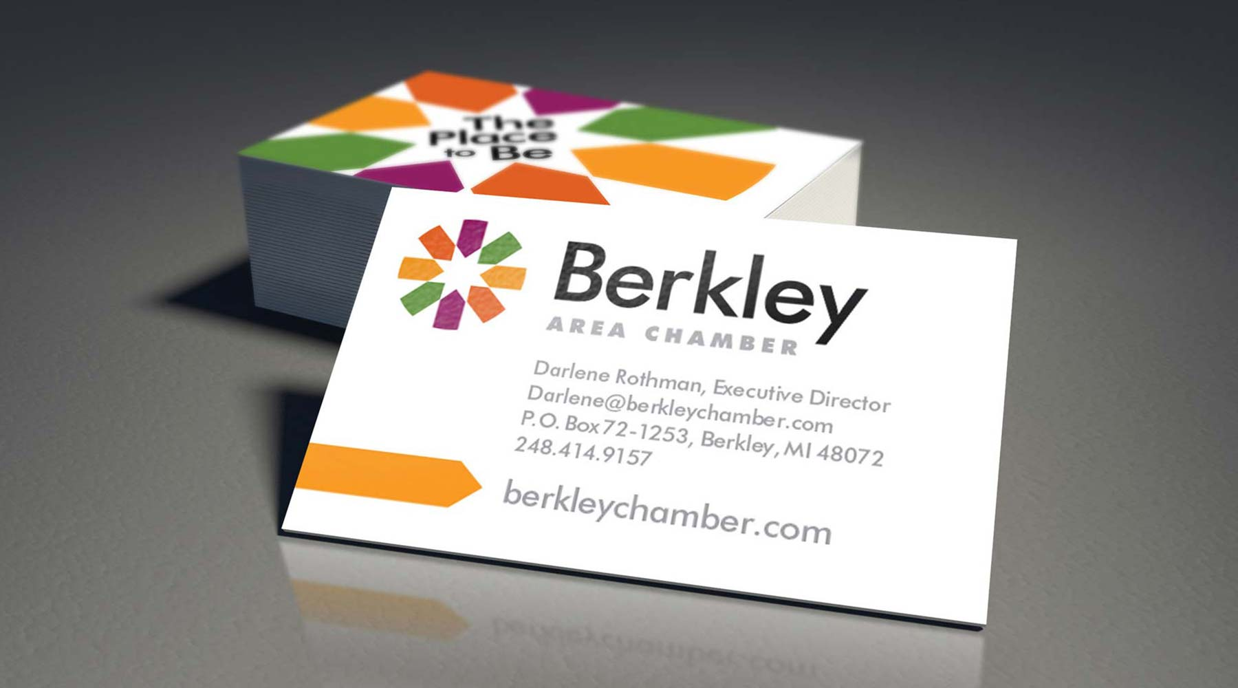 Berkley Chamber business cards