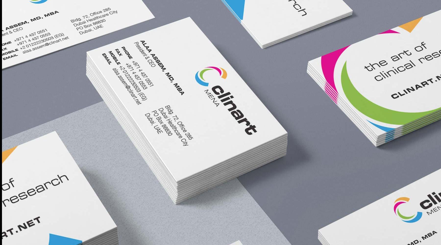 Clinart Business Card