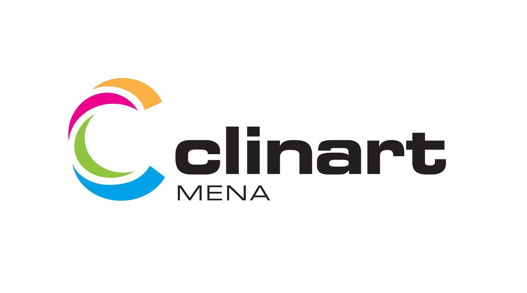 Clinart logo on white
